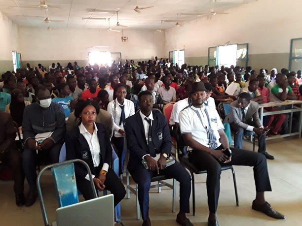 Conférence à la Journée de l'Information et de l'Orientation du SANMATENGA (Kaya)