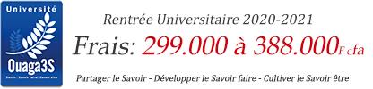 Université Ouaga 3S
