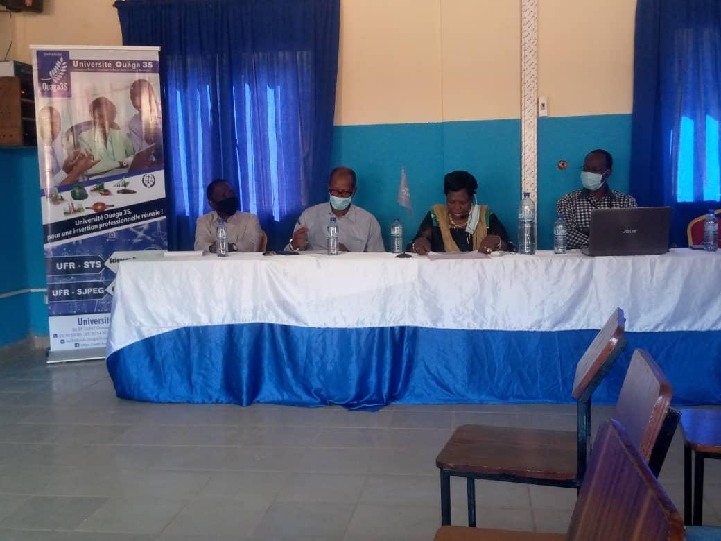 Séminaire scientifique organisé par l'Université Ouaga-3S